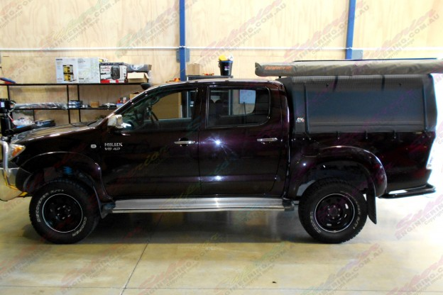 Toyota Hilux (Dual Cab) Fitted with Ride-Rite Standard Height Air Bags