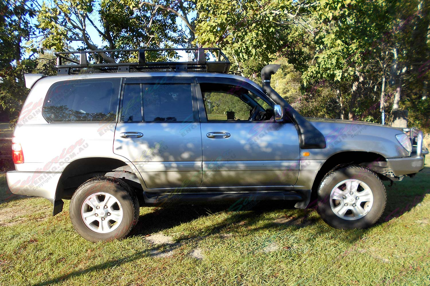 100 Series Landcruiser 2 Inch Bilstein Airbag Kit 4x4 Airbags Toyota Land Cruiser Lift After Being Fitted With A