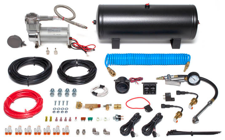 Airbag Man In-Cab Kit - On-Board Air Supply with Digital Panel