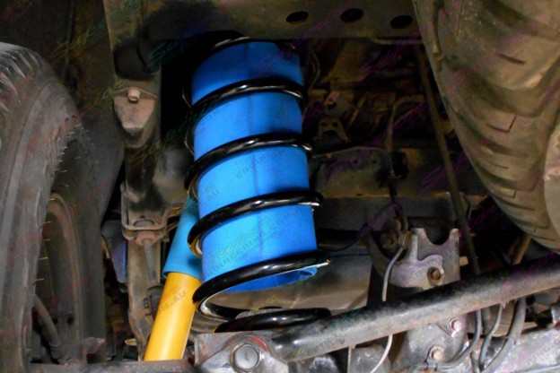 """Airbag Man coil helpers are included in the 2"""" Inch Bilstein Airbag Lift Kit"""