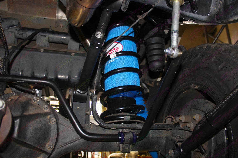 Nissan Patrol GU Wagon 3 Inch Airbag Suspension Kit
